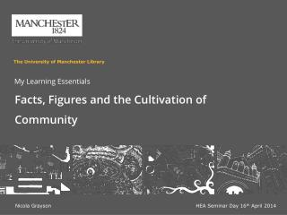 Facts, Figures and the Cultivation of Community