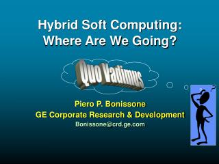 Hybrid Soft Computing: Where Are We Going?