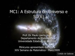 MC1: A Estrutura do Universo e SU(6)