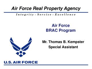 Air Force  BRAC Program