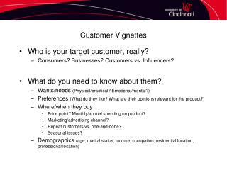 Customer Vignettes