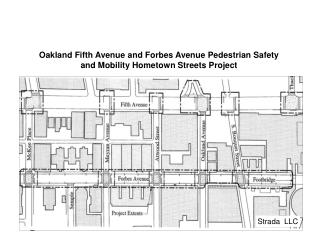 Oakland Fifth Avenue and Forbes Avenue Pedestrian Safety and Mobility Hometown Streets Project