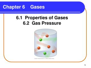 Chapter 6 Gases