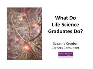 What Do Life Science Graduates Do? Suzanne Creeber Careers Consultant