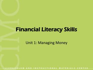 Financial Literacy Skills