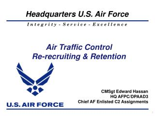 Air Traffic Control Re-recruiting & Retention