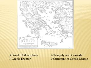 Greek Philosophies Greek Theater