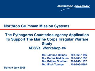 Northrop Grumman Mission Systems