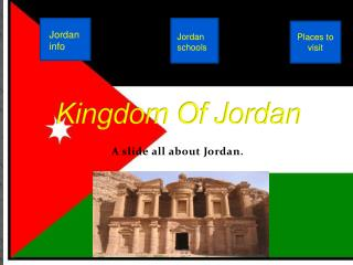 Kingdom Of Jordan