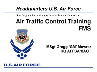 Air Traffic Control Training FMS