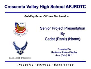 Crescenta Valley High School AFJROTC