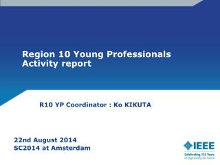 Region 10 Young Professionals Activity report