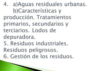 3. Aguas Residuales Urbanas