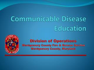 Communicable Disease Education