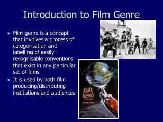 Introduction to Film Genre