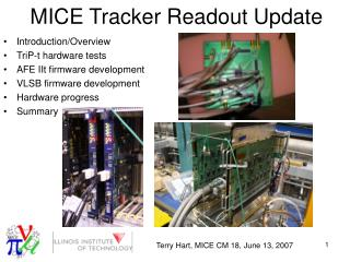 MICE Tracker Readout Update