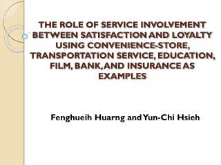 Fenghueih Huarng and Yun-Chi Hsieh