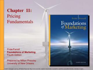 Chapter  11: Pricing Fundamentals