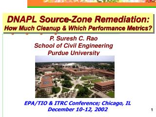 DNAPL Source-Zone Remediation: How Much Cleanup & Which Performance Metrics?