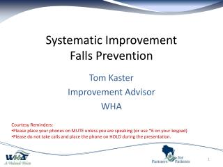 Systematic Improvement Falls Prevention