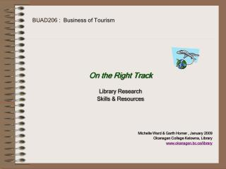 BUAD206 :  Business of Tourism