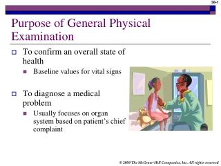 Purpose of General Physical Examination