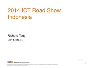 2014 ICT Road Show Indonesia
