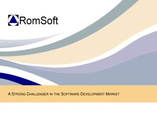 A Strong Challenger in the Software Development Market
