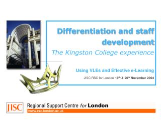 Developing ILT at Kingston