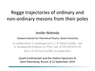 Regge trajectories of ordinary and non-ordinary mesons from their poles