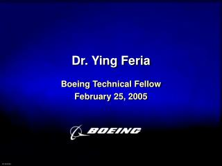 Dr. Ying Feria
