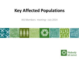 Key Affected Populations