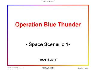Operation Blue Thunder