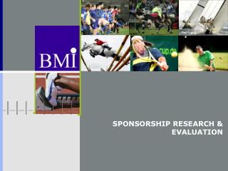 SPONSORSHIP RESEARCH & EVALUATION