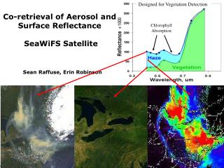 Co-retrieval of Aerosol and Surface Reflectance  SeaWiFS Satellite