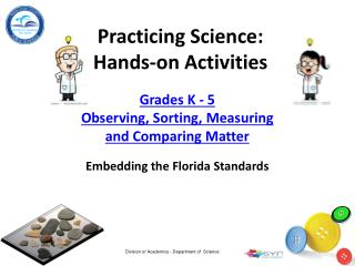 Practicing Science : H ands-on Activities