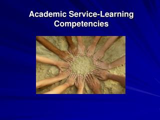 Academic Service-Learning Competencies