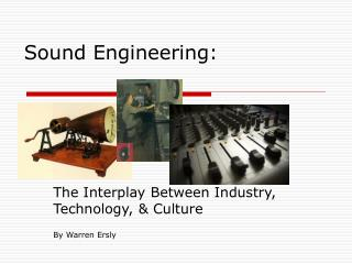 Sound Engineering: