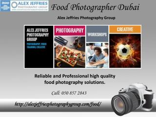 Food Photographer Dubai
