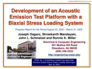 Development of an Acoustic Emission Test Platform with a  Biaxial Stress Loading System