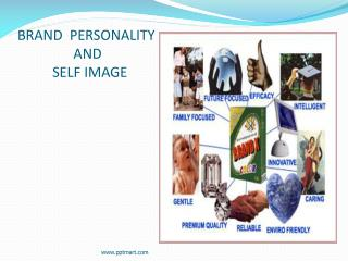 BRAND  PERSONALITY                 AND            SELF IMAGE