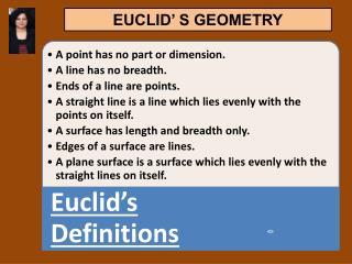 ppt euclid the father of geometry powerpoint presentation id