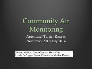Community Air Monitoring