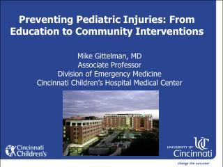 Preventing Pediatric Injuries: From Education to Community Interventions