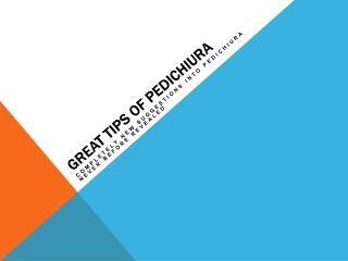 Probably The Most Forgotten Fact Around Pedichiura