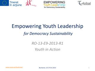 Empowering Youth Leadership for Democracy Sustainability