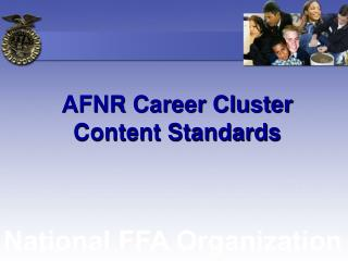 AFNR Career Cluster Content Standards