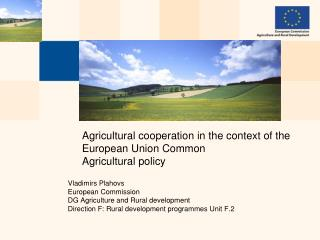 Agricultural cooperation in the context of the European Union Common Agricultural policy