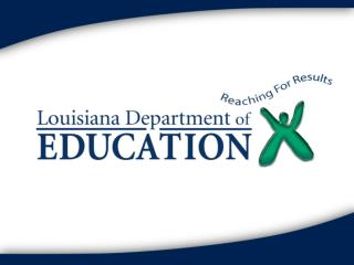 Louisiana's Homeless   Office of Education