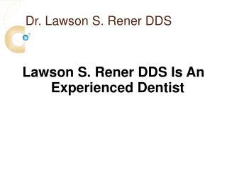Lawson Rener